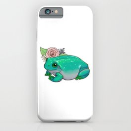 Succulent Frog iPhone Case