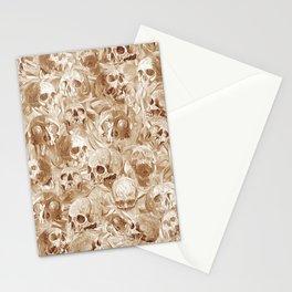 many many Skulls Stationery Cards