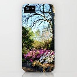 Muscogee (Creek) Nation - Honor Heights Park Azalea Festival, No. 08 of 12 iPhone Case