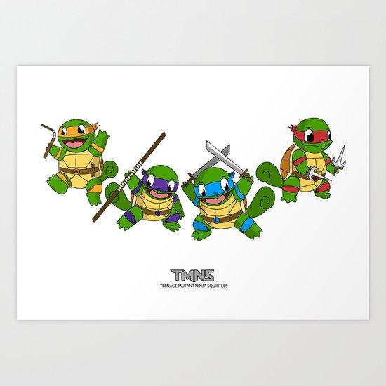 TMNS Art Print