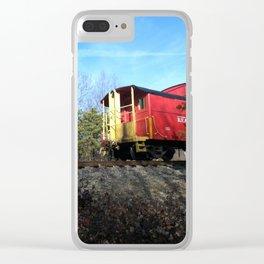 Caboose Clear iPhone Case