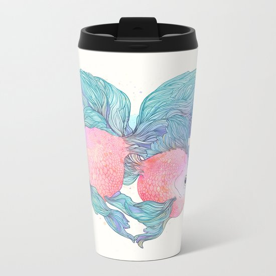 Summer Love Metal Travel Mug