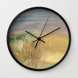 The Last Rhino Wall Clock