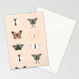Butterflies + Moths Stationery Cards