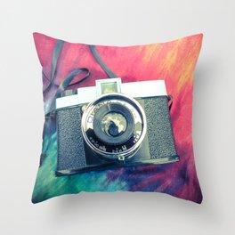 Diana F+ Throw Pillow