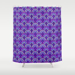 60's Patterns 2 Shower Curtain