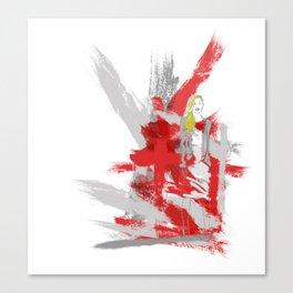 Edgy Fashion Canvas Print