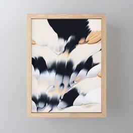 Abstract Flow 01 Framed Mini Art Print