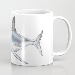 Shark-Filled Waters Coffee Mug