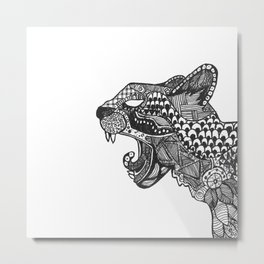 Big Cat Metal Print