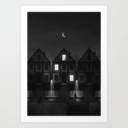 Somehow That Stranger Doesn't Feel Like Stranger Art Print