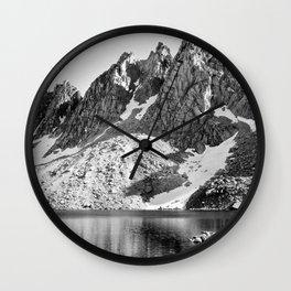 Kearsage Pinnacles, Kings River Canyon Wall Clock