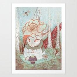 Forest Fairytales Art Print