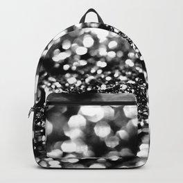 Black Lady Glitter #1 #shiny #decor #art #society6 Backpack