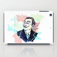 dali iPad Cases featuring Dali by Jon Cain