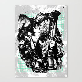 Fall of Civilization Canvas Print