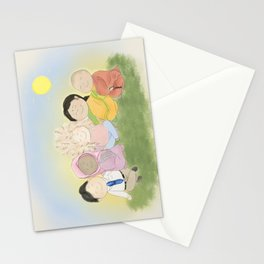 Peaceful Friends Stationery Cards