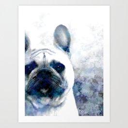 French Bulldog Dog 159 Art Print