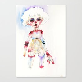 Ball-joined doll Canvas Print