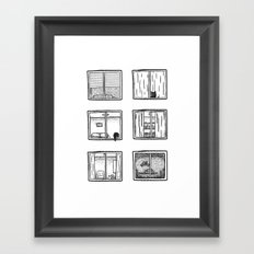 Every Window is A Story Framed Art Print