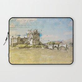 Eilean Donan Castle, Scotland Laptop Sleeve