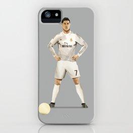 Ronaldo 7 - Football Free Kick iPhone Case