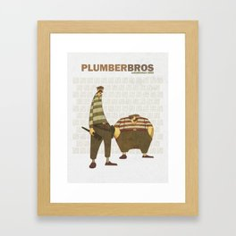 Plumber Bros. Framed Art Print
