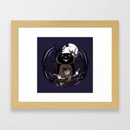 Pinocchio Vs Castors Framed Art Print