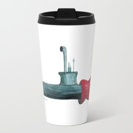 Sub Mitt Pun Travel Mug