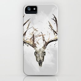 King of the Forrest - Trophy Buck - Deer iPhone Case