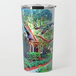 green sanctuary Travel Mug