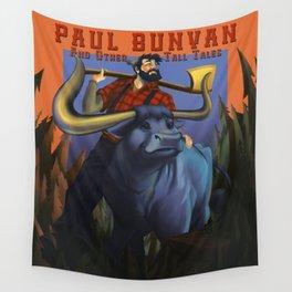 Paul Bunyan Wall Tapestry