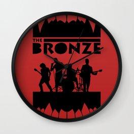 The Bronze Wall Clock