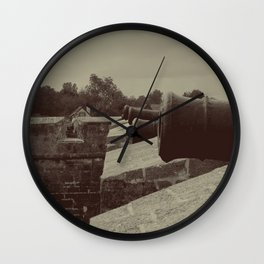 Defend The Fort! Wall Clock