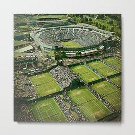 Wimbledon Tennis Metal Print