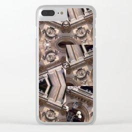 GARNIER COLLAGE Clear iPhone Case