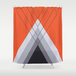 Iglu Flame Shower Curtain