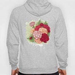 Full bloom | Ladybug carnation Hoody
