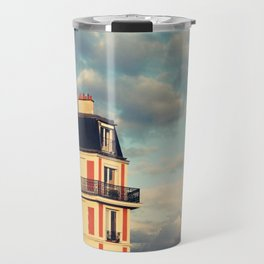 Shadow Of Sacre Coeur Travel Mug