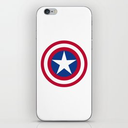 The Captain Shield iPhone Skin