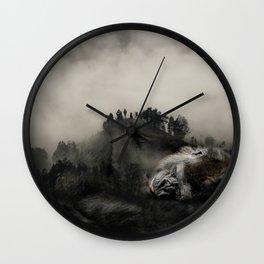 Gorilla Forest Wall Clock