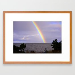 Rainbow! Framed Art Print
