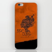the cure iPhone & iPod Skins featuring Rex's Cure by JBSalsbury