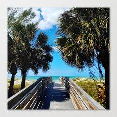 Pathway to Beach Heaven Canvas Print