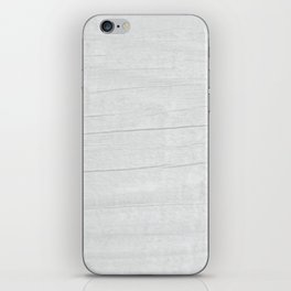 Gray Weathered Wood iPhone Skin
