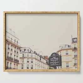 Place Sartre Beauvoir Serving Tray