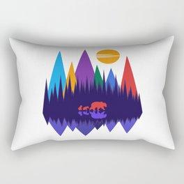 Bear & Cubs #4 Rectangular Pillow