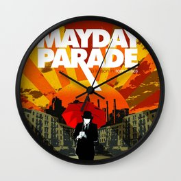 mayday romantics parade 2021 Wall Clock
