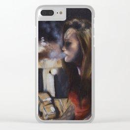 Leah Clear iPhone Case
