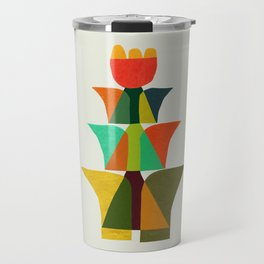 Whimsical bromeliad Travel Mug